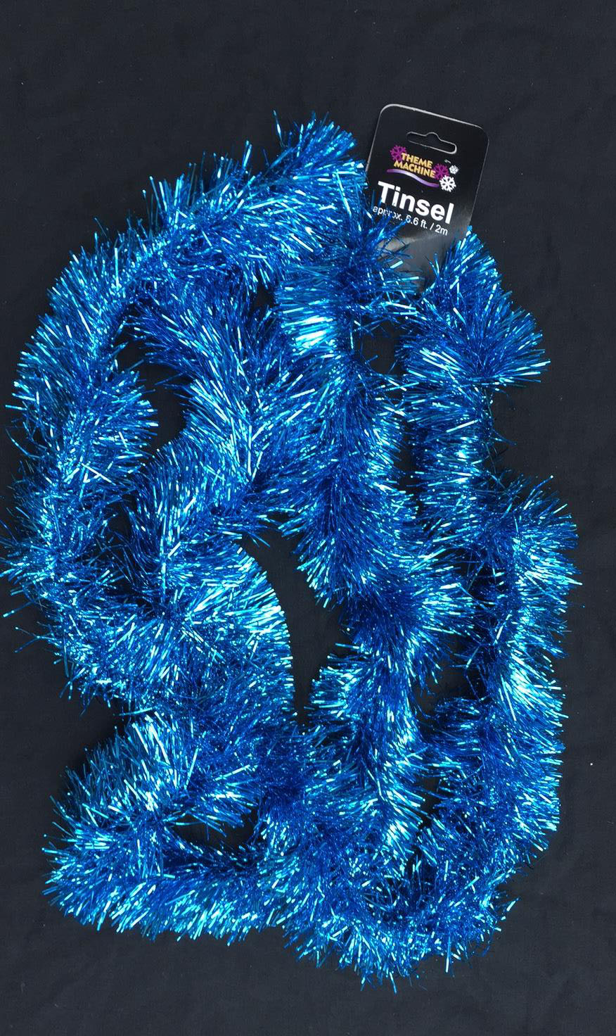 cheap turquoise blue christmas tinsel garland christmas tree decoration 2 metre