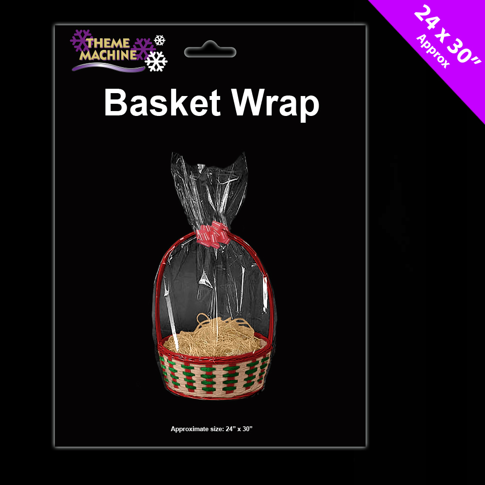 Hamper Wrap Cellophane Basket Gift Large Cello Bag Free P