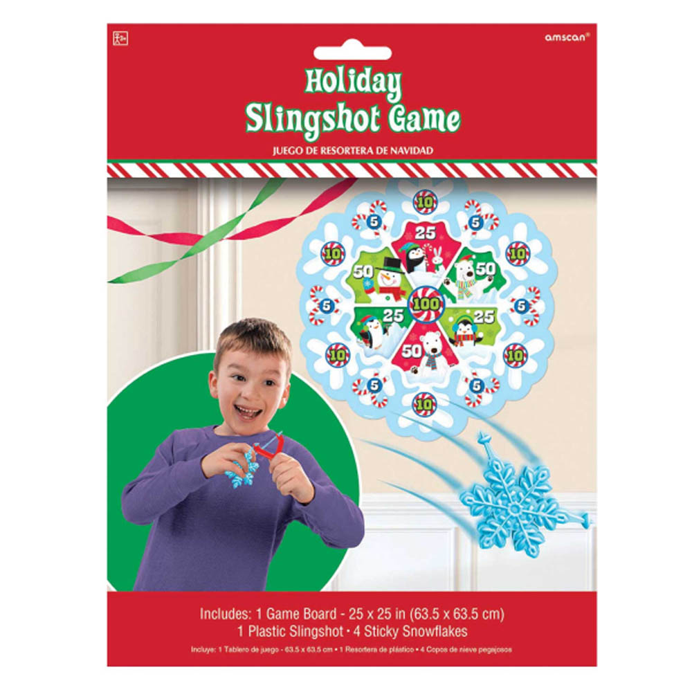 Navidad Infantil Juego Para Fiesta Resortera Familia Diversion Ebay