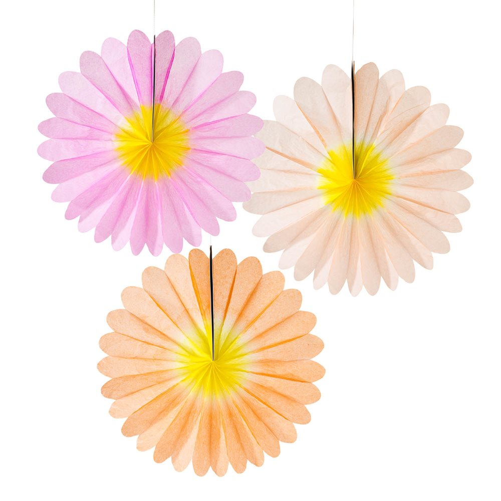 3 x pastel fans paper flower decorations hanging party decorations 3 x pastel fans paper flower decorations hanging party decorations wedding party mightylinksfo