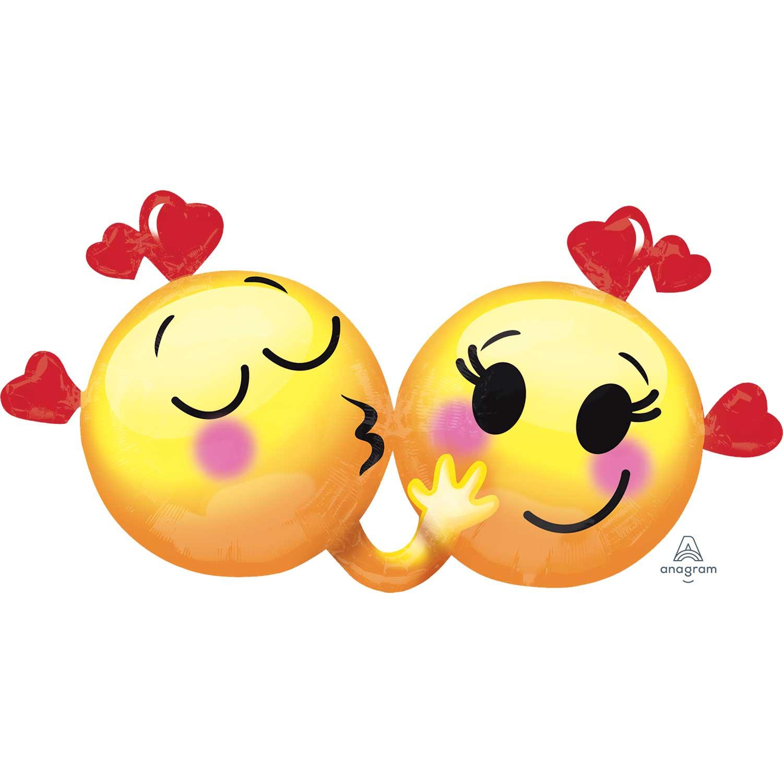 Happy Valentine S Day Love Supershape Emoticons In Love Emoji Heart