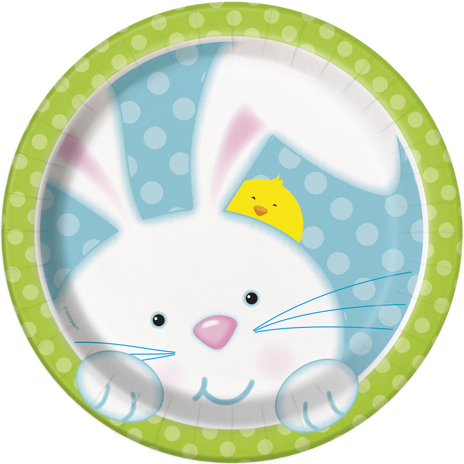 8 x Easter Bunny Paper Party Plates 18cm Dessert Kids Spring Easter Party Plate  sc 1 st  eBay & 8 x Easter Bunny Paper Party Plates 18cm Dessert Kids Spring Easter ...