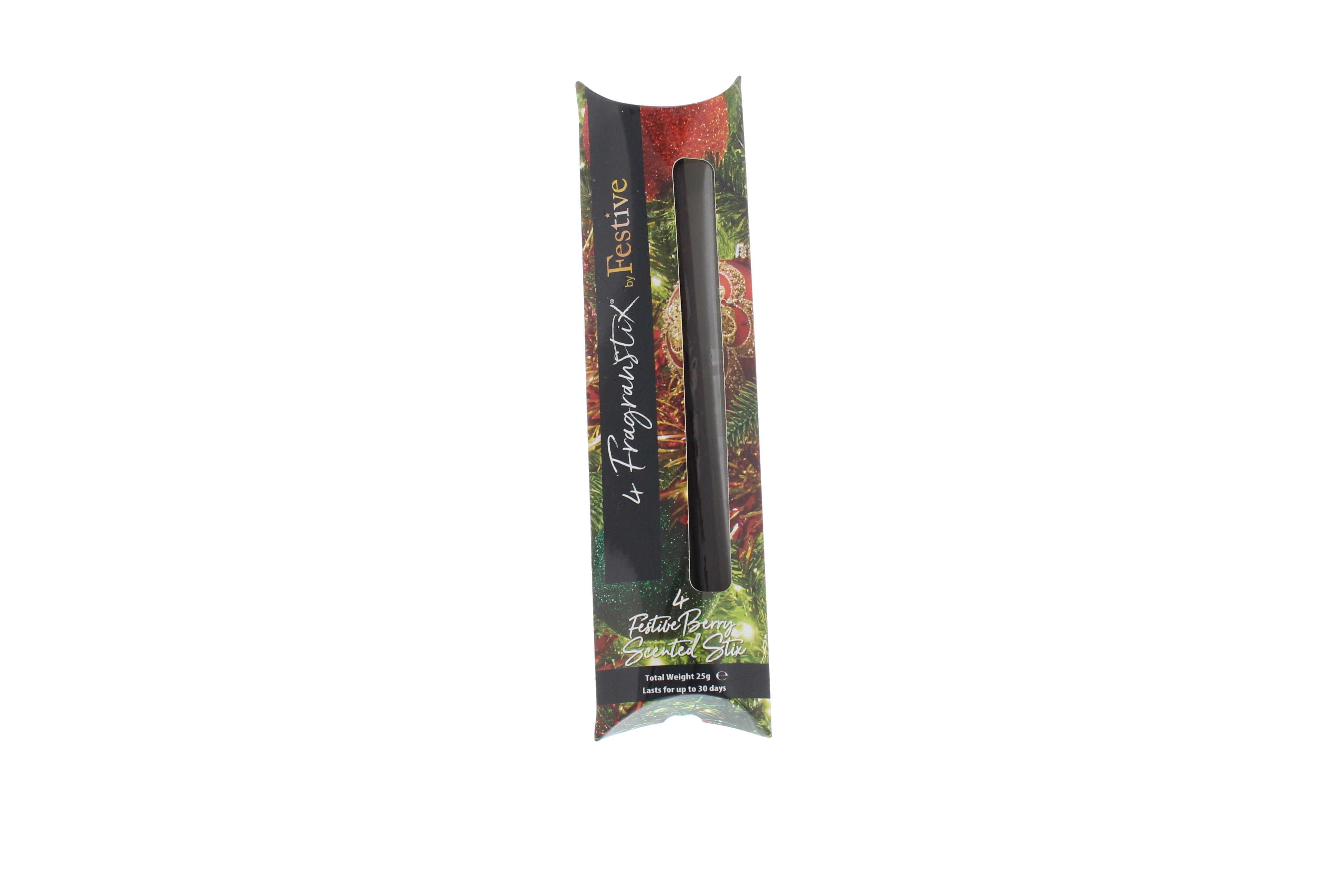 4 x Fragrance Sticks Scented Hanging Sticks Festive Berry ...