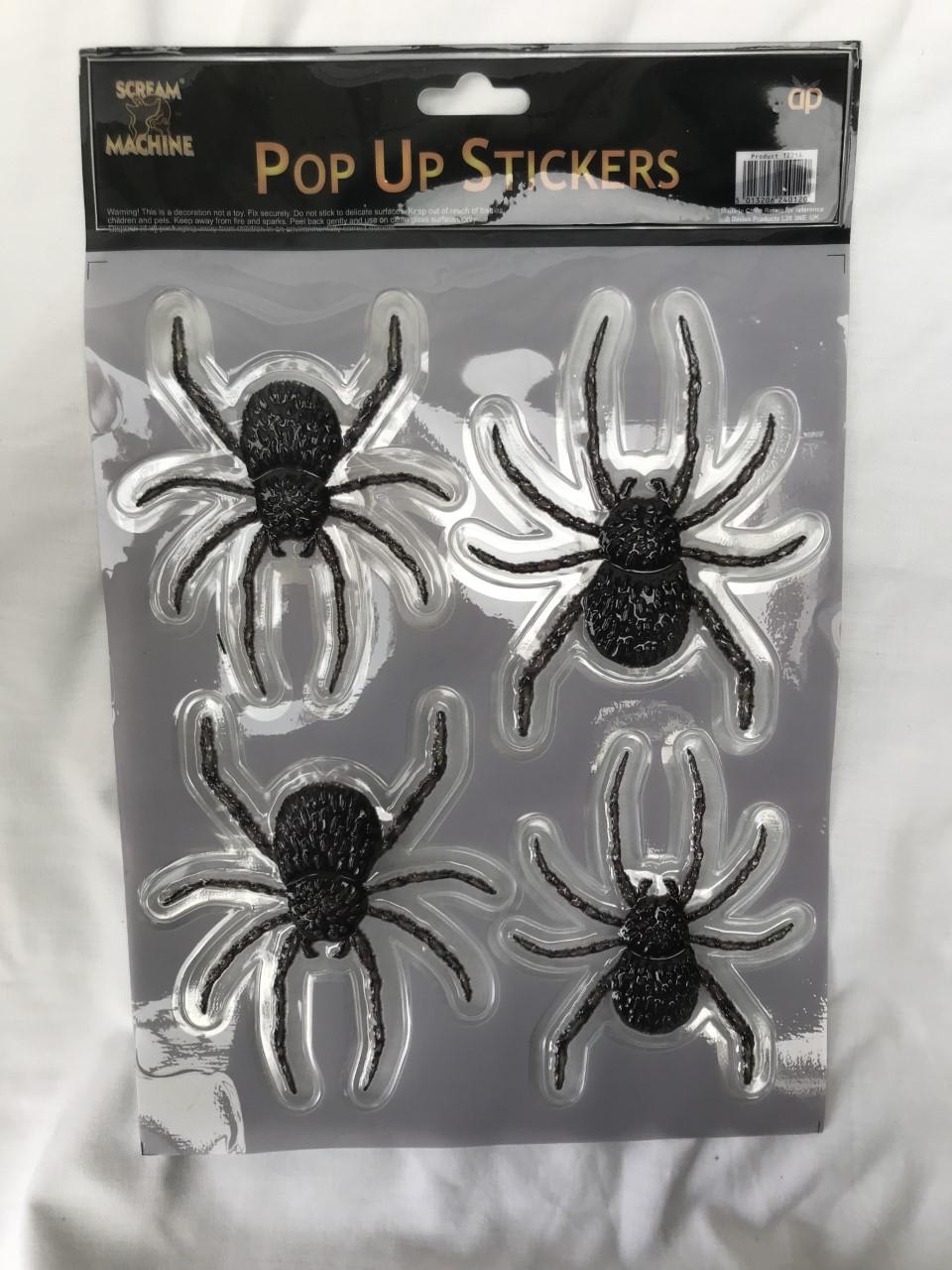 3 50 mm z Befestigen mit Haken 5  oder 10 Spinne Kunststoff schwarz ca