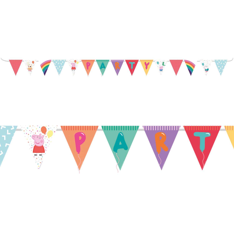 Joyeuse Saint Valentin à Thème Bunting Bannière 15 drapeaux par Parti Decor