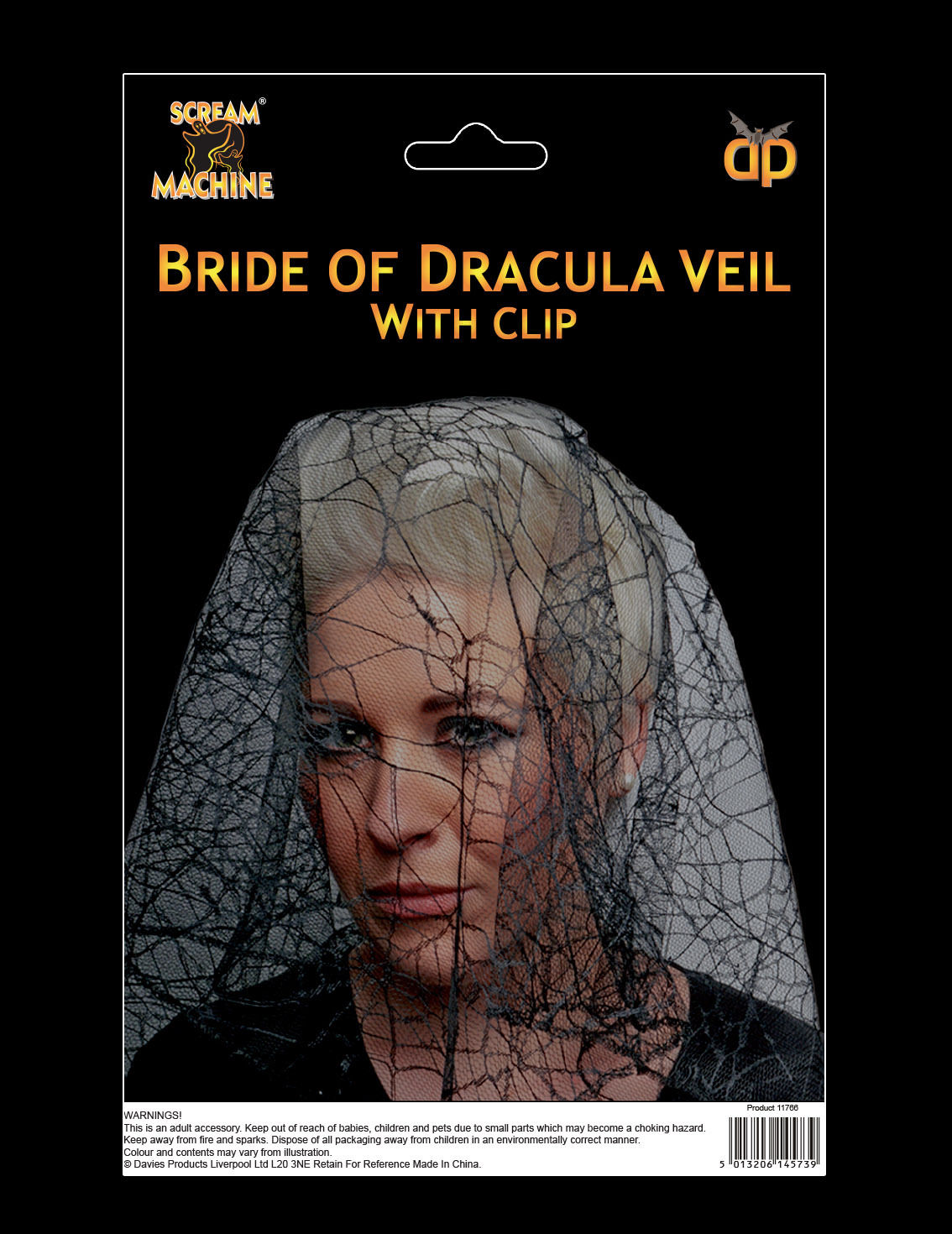 Details about Halloween Bride of Dracula Veil CHEAP HALLOWEEN Fancy Dress  Accessory Prop