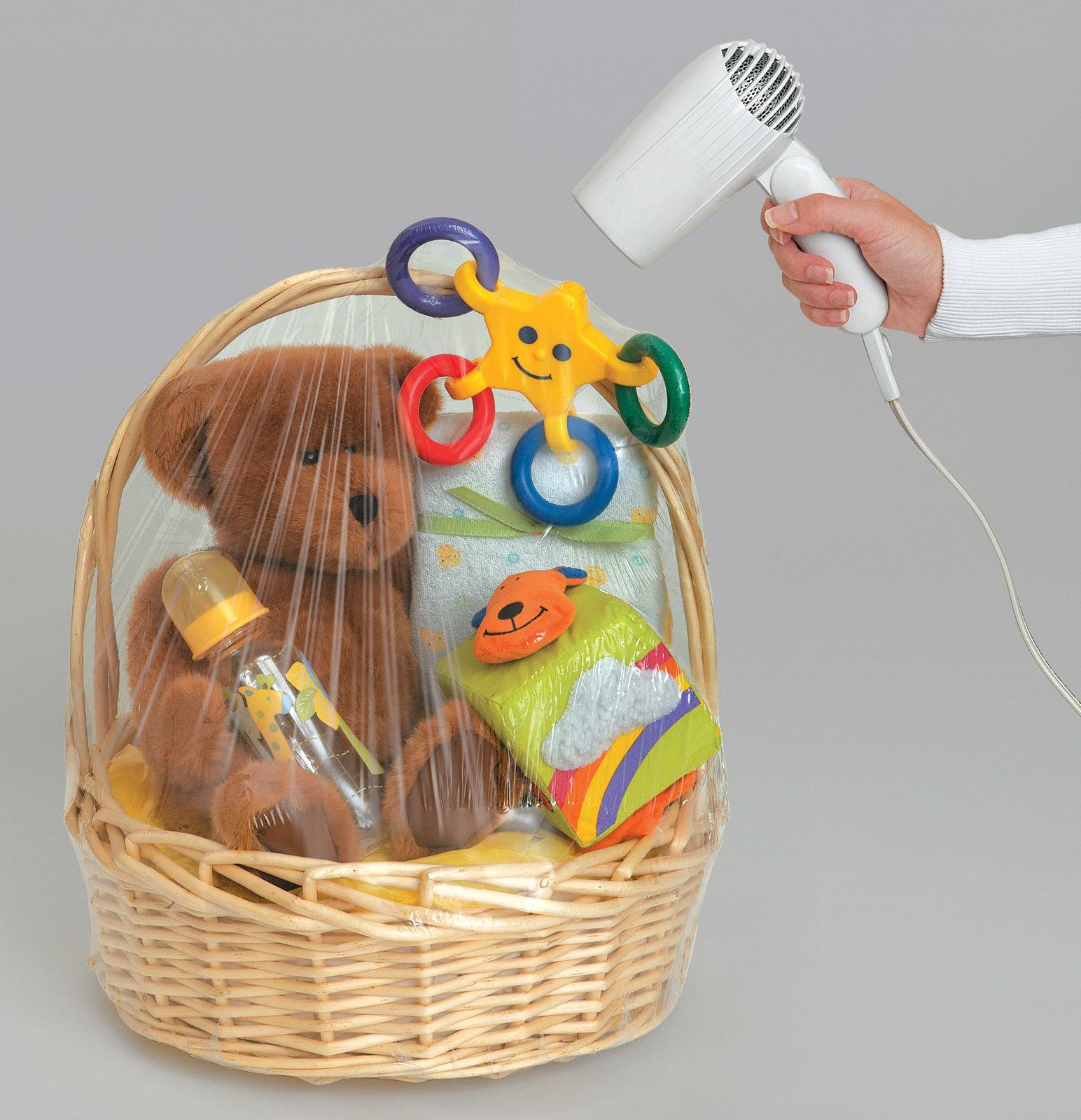 Bridal Shower Gift Basket Climbing On House Halloween: Hamper Wrap Cellophane Basket Gift Wrap Bag Large Cello