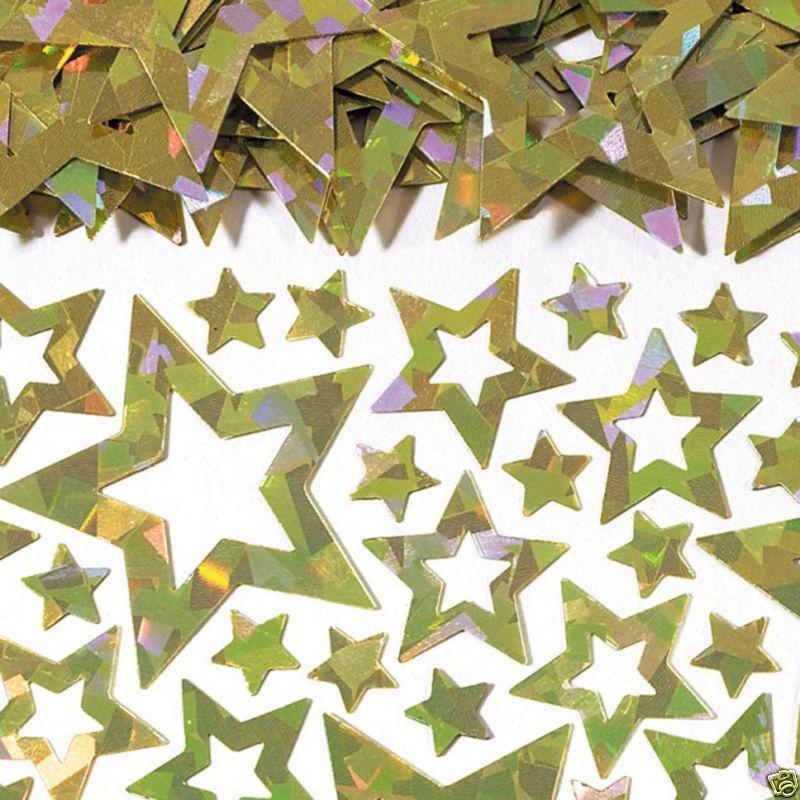 Golden Stars Table Confetti