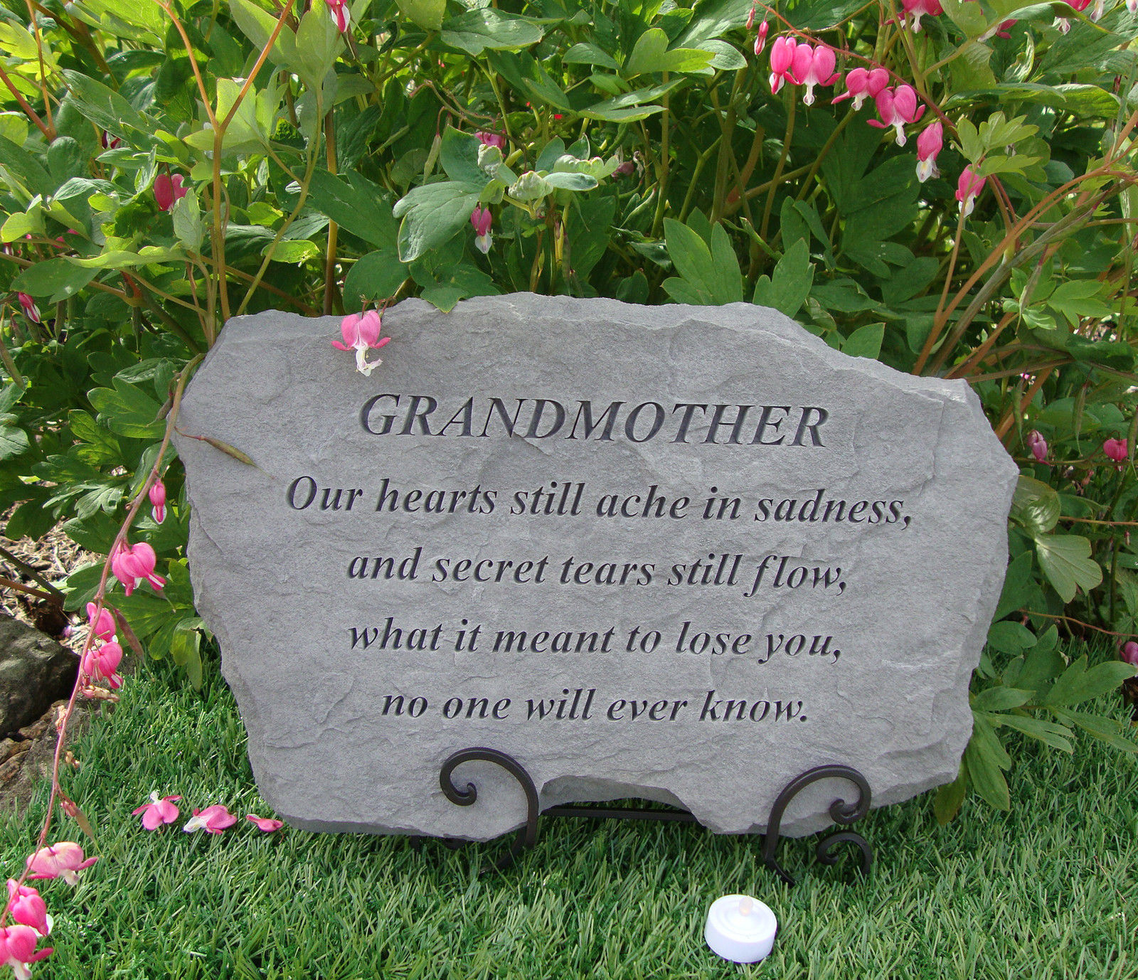 Sympathy Stones For The Garden Grandmother grandma memorial garden stone plaque grave marker grandmother grandma memorial garden stone plaque grave marker ornament workwithnaturefo