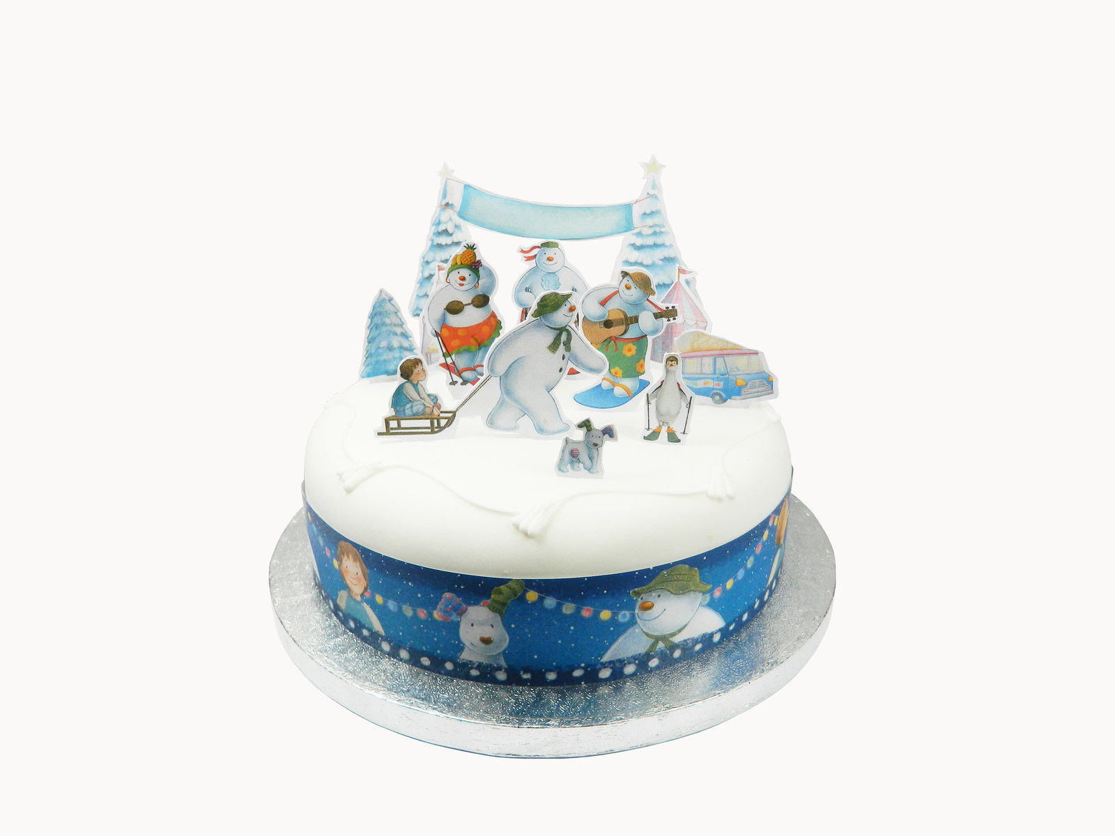 christmas wedding cake toppers uk 11 x the snowman cake decorations toppers pop 12844