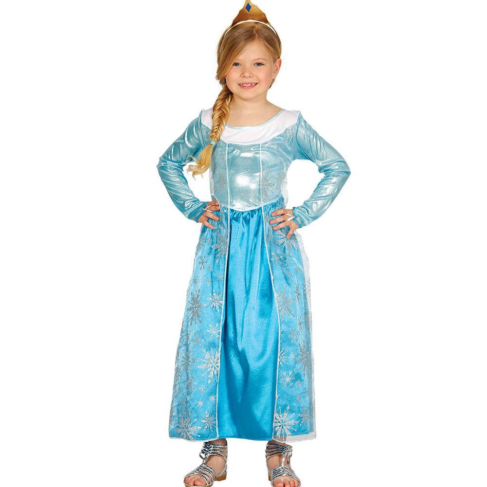 Child Girls Ice Princess Frozen Anna Style Fancy Dress Costume 5-6 years  sc 1 st  eBay & Child Girls Ice Princess Frozen Anna Style Fancy Dress Costume 5-6 ...