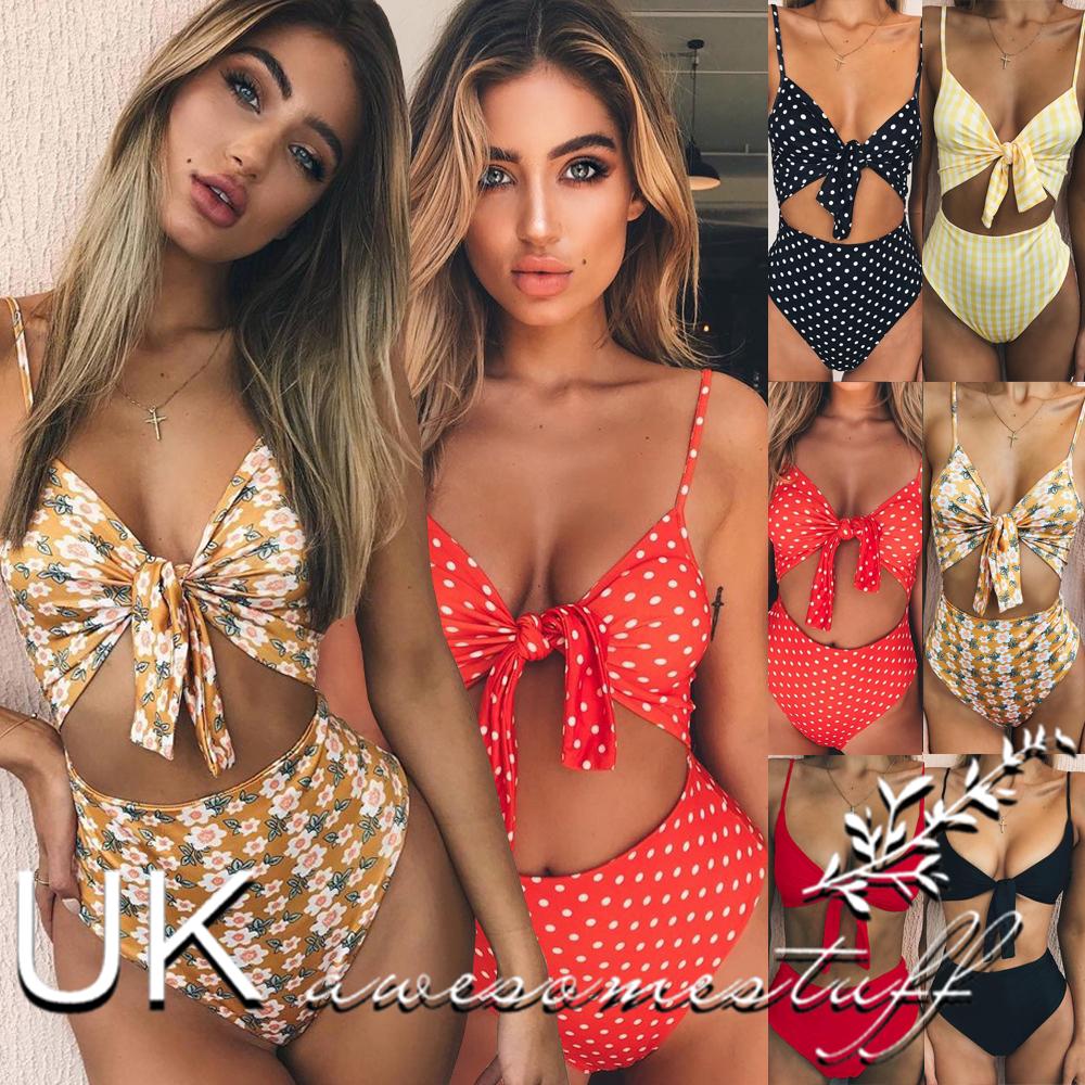 5217a2c019 Dettagli su REGNO Unito Da Donna Estate Spiaggia Bikini Set Donna 2 PZ  Vacanza Costumi Da Bagno Piscina Costume Da Bagno- mostra il titolo  originale