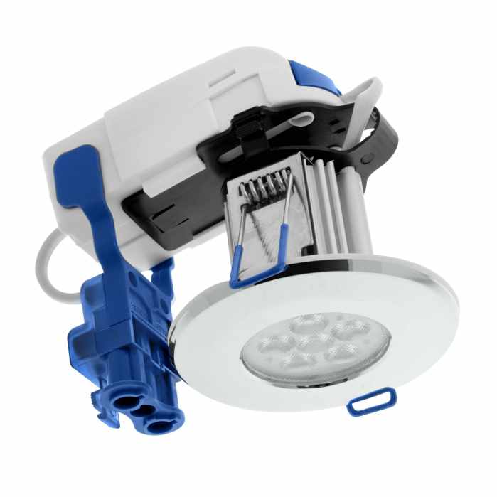 Inceptor Max 8.5W Chrome LED Downlight Cool Dimmable