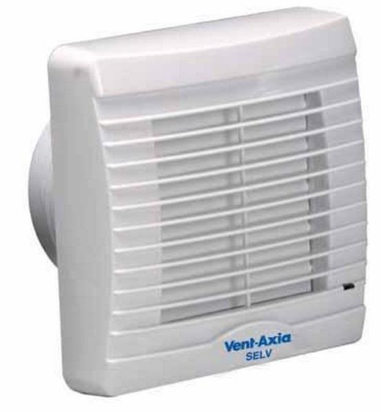 Vent Axia Va100svxht12 Lv Humidity Timer Fan 258512c 5015135464325 Ebay