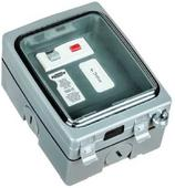 Timeguard Weathersafe Vision Single Gang 13A RCD Fused Spur