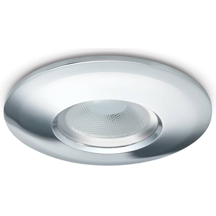 JCC FGLED10 Fire Rated Dimmable Downlight Chrome WW