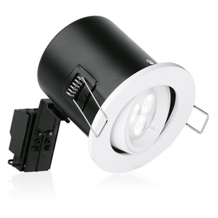 Aurora Fire Rated Adjustable Downlight White