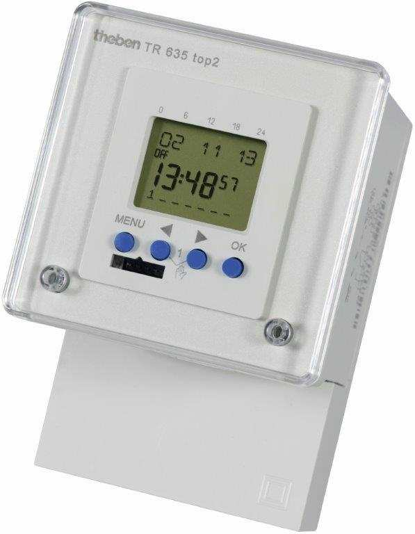 Timeguard TR635TOP2 24 Hr/7 Day/Random/Pulse 16A Electronic Timer