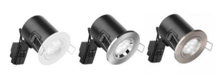 Aurora Enlite Fixed GU10 LED Downlight with Lamp