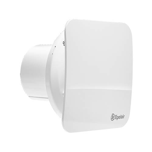 Xpelair Simply Silent C4HTS Square Humidity Extract Fan with Timer