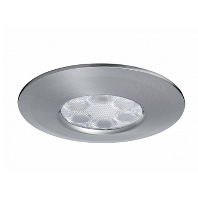 JCC FGLED6 Non-Dimmable LED Brushed Nickel Downlight WW