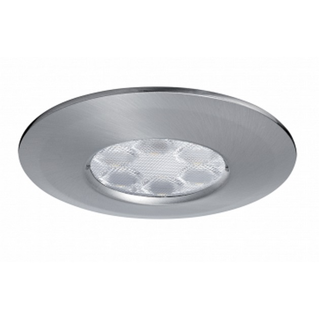 JCC FGLED6 Dimmable LED Brushed Nickel Downlight CW