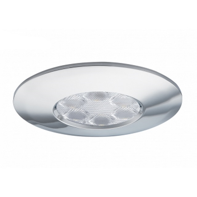 JCC FGLED6 Dimmable LED Chrome Downlight WW
