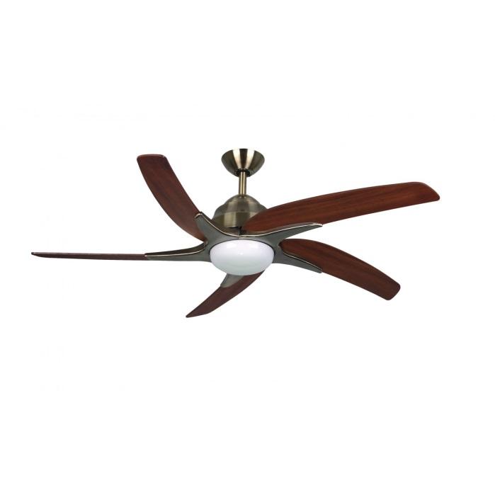 Fantasia Viper Plus Ceiling Fan 44in Ab Dark Oak Remote Reverse