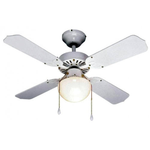 Fantasia Global Rimini 42in White Ceiling Fan Light