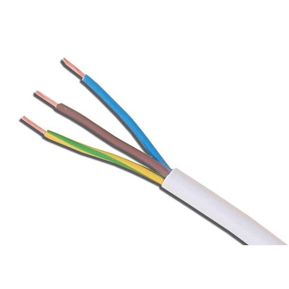 3093Y 2.5mm Heat Resistant Flexible Cable (Cut By The Metre ...