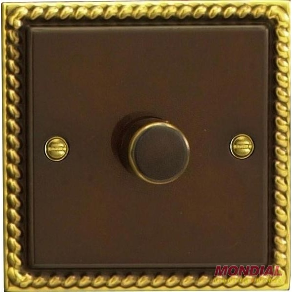 Varilight V-Pro 1 x 400W 2 Way Trailing Edge Dimmer Antique Georgian