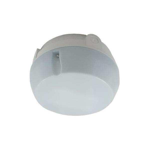 Ansell AD16/WO/HF 16w 2D Circular Bulkhead White Opal