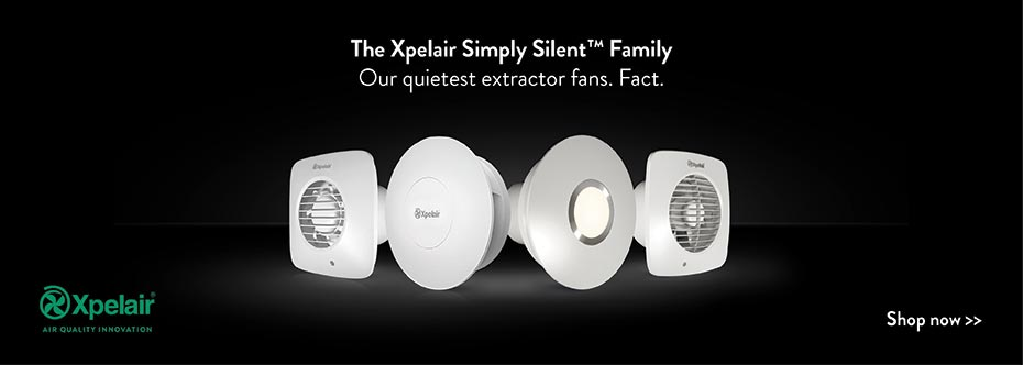 Xpelair simply silent extractor fans