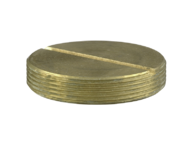 25mm Brass Slotted Plug