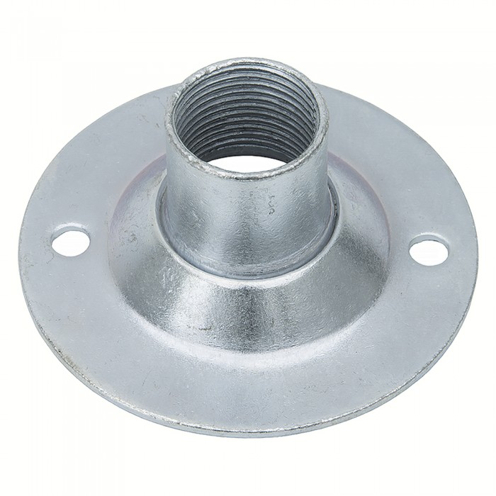 20mm Dome Cover Galvanised Circular Small Steel Conduit