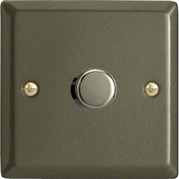 Varilight V-Pro 1 x 400W 2 Way Trailing Edge Dimmer in Graphite 21