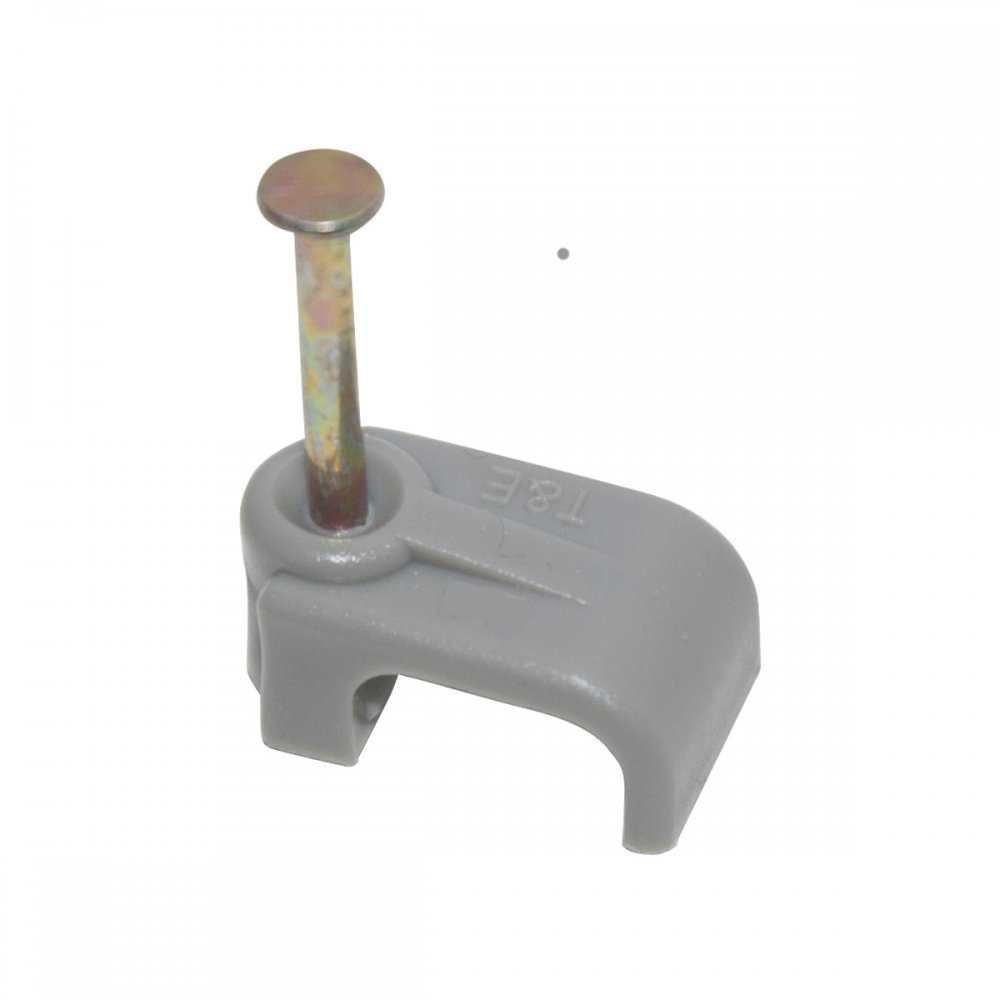 Cable Clips Grey 1.0mm T&E Scolmore GA500 Box of 100