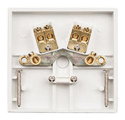 Click Polar 20A Flex Outlet Plate with Terminals