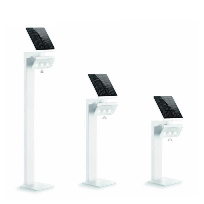 Steinel XSolar GL-S LED PIR Solar Bollard Light White 671204