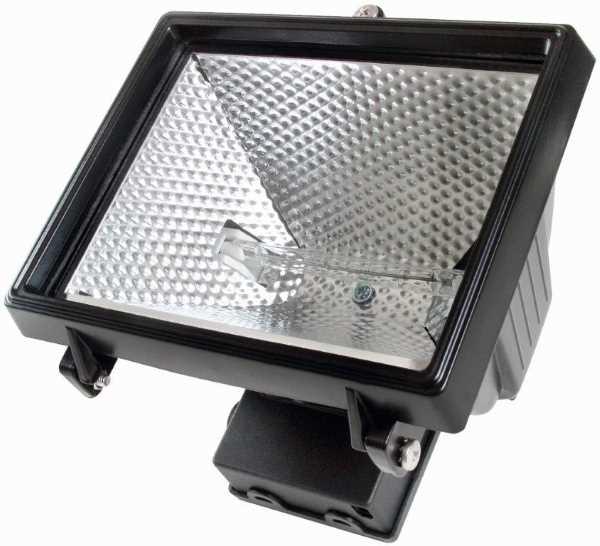Timeguard NCFB500C Floodlight 500W Halogen Energy Saving Bl