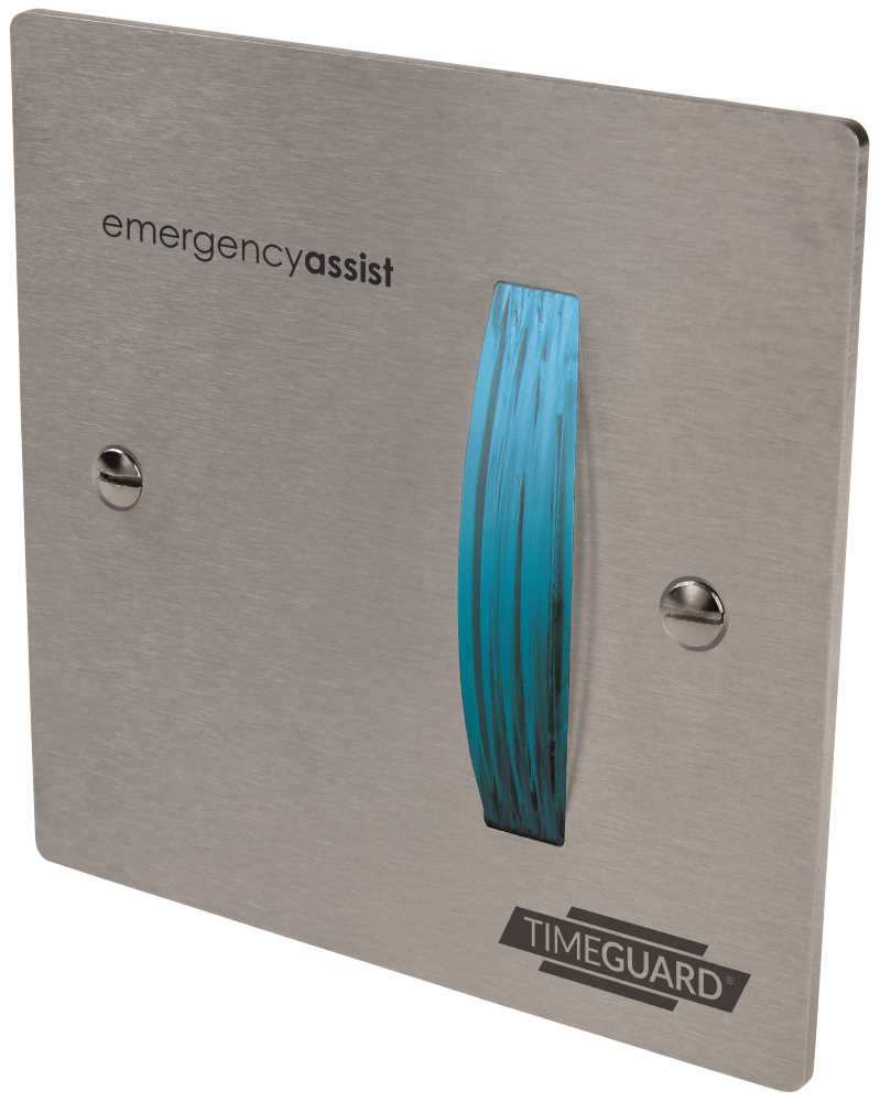 Timeguard EASSDF1 Single Zone (Stainless Steel) Over-Door Flasher