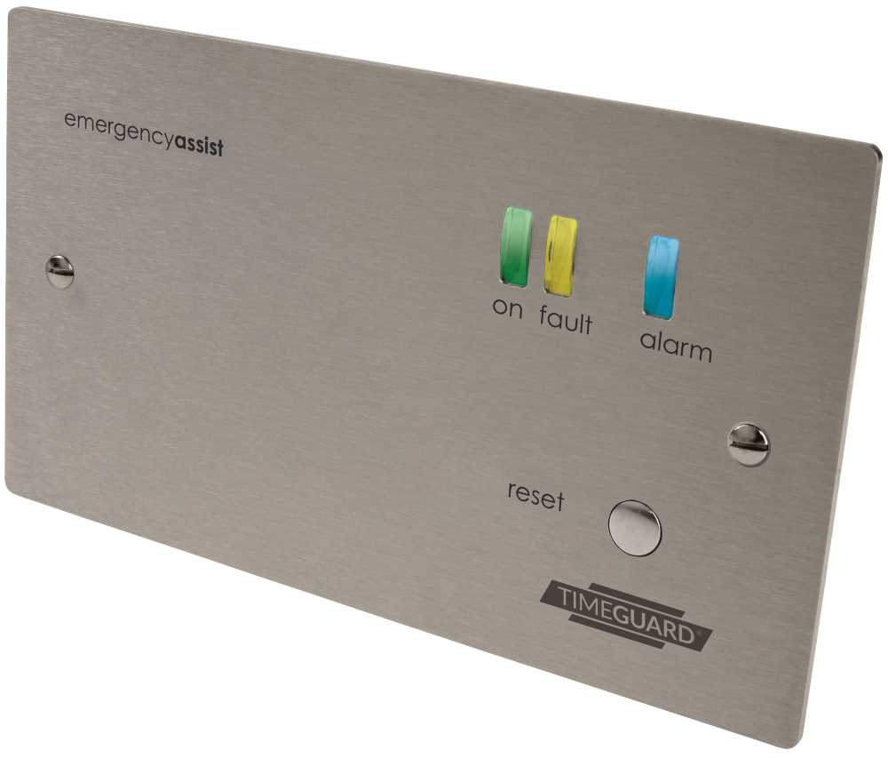 Timeguard EASSCP1PR 1 Zone (Stainless) Control Panel with Back-Up