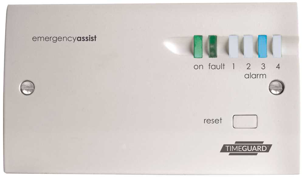 Timeguard EACP4PR Four Zone Control Panel with Back-Up