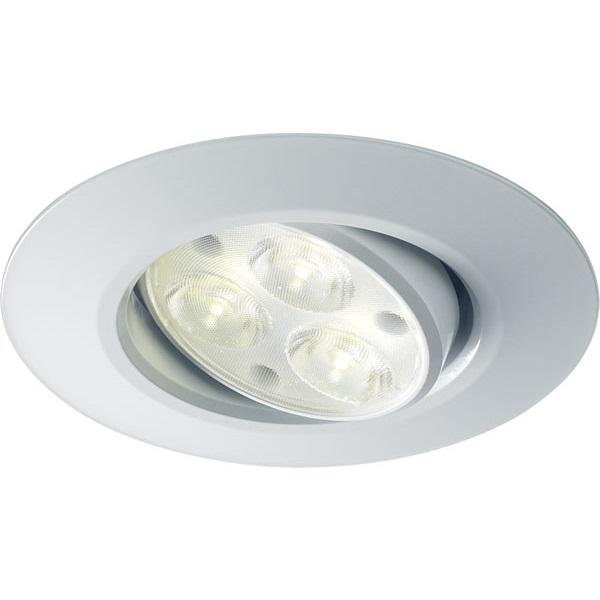 Halers H4 FF White Tilt Dimmable LED Downlight 60D 4000K