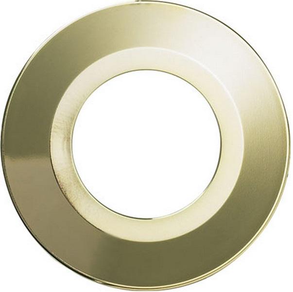 Halers H2 Pro 550/700 LED Downlight Round Polished Gold Bezel