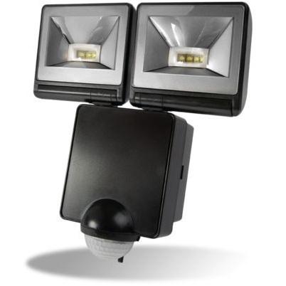 Timeguard LED200PIRB Twin LED PIR Floodlight in Black
