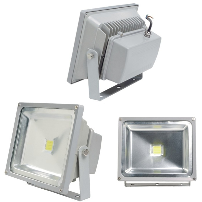 50W IP65 High Power LED Floodlight Warm White