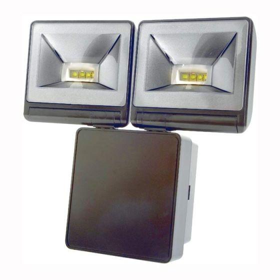 Timeguard LED200FLB Twin LED Floodlight Black