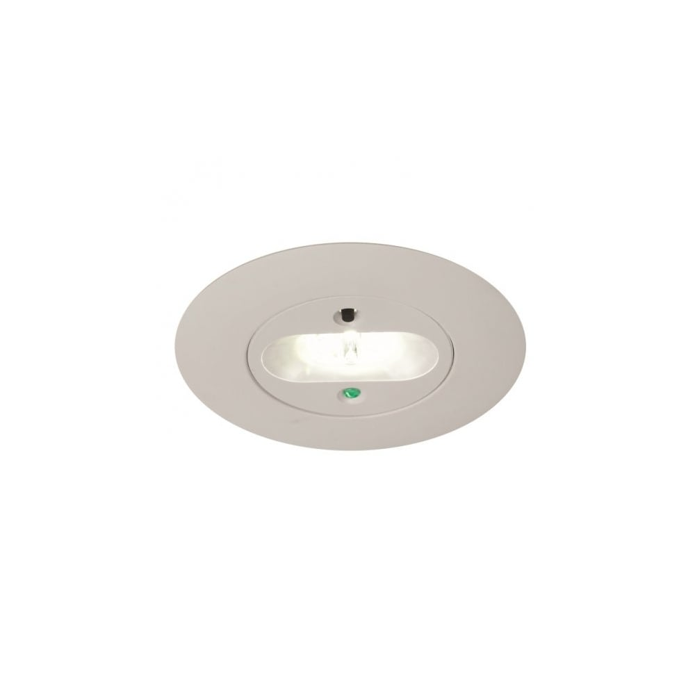 An Merlin Led Recessed Escape Route Emergency Downlight