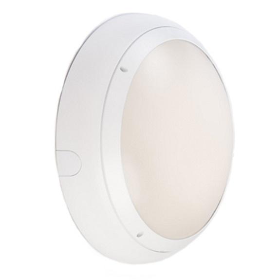 Ansell Vision 3 20w LED  IP65 White Bulkhead Light